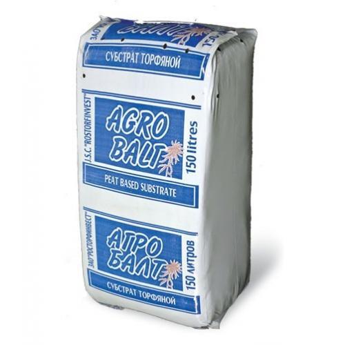 Грунт торфяной  Агробалт-С 250л /фр 0-10мм/